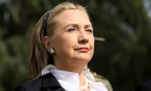 Hillary Clinton trades her scrunchie for a headband in 2012
