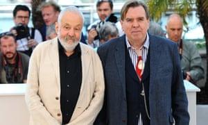 Timothy Spall with director Mike Leigh