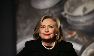 Power hair: Hillary Clinton in November last year
