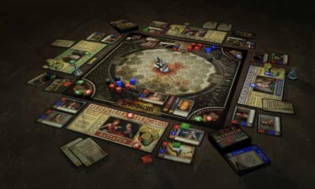 Spartacus: Blood and Sand board game