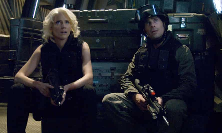 A still from the Battlestar Galactica TV series