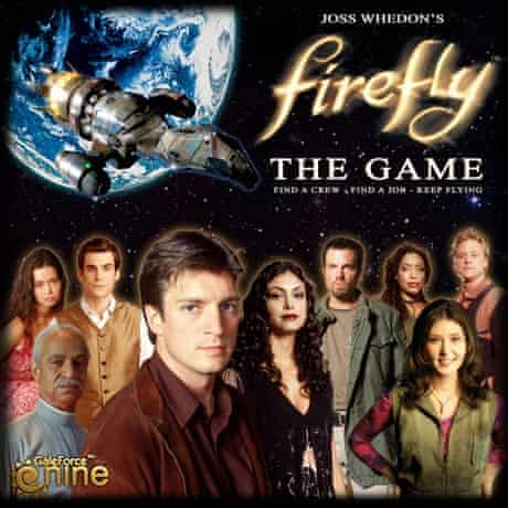 Box cover of Firefly the Game