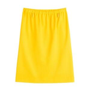 Minion yellow - yellow knee length skirt by Jil Sander