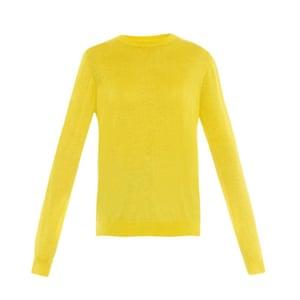 Minion Yellow - yellow sweater by Raey