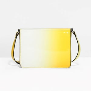 Minion Yellow - yellow and white gradient colour cross body bag by & Other Stories