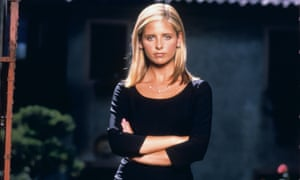 Fanger management: Sarah Michelle Gellar as Buffy The Vampire Slayer.