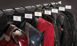 This means wardrobe – character costumes from Avengers: Age Of Ultron.