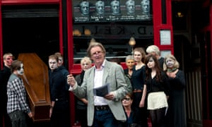 Adrian Dunbar launches the 2014 festival. This year, he will direct a new staging of TS Eliot's The Waste Land.