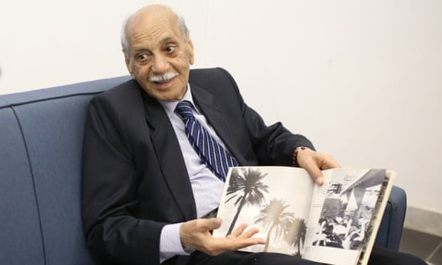 The father of Iraqi photography Latif al-Ani, aged 83.