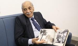 The father of Iraqi photography Latif al-Ani, aged 83.