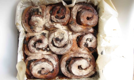 Lily Vanilli's chelsea buns
