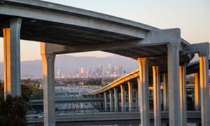 LA concrete freeway
