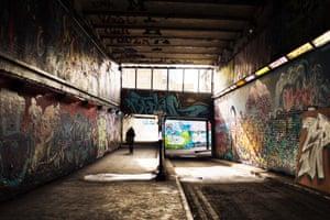 Lambeth, London  Leake Street tunnel  James Crosby