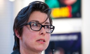 Sue Perkins: taking a break from Twitter after receiving threats from outraged Jeremy Clarkson fans.