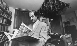 Salman Rushdie, pictured shortly before going into hiding as result of a worldwide fatwa.