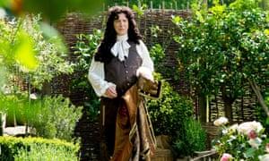 Alan Rickman as Louis XIV.