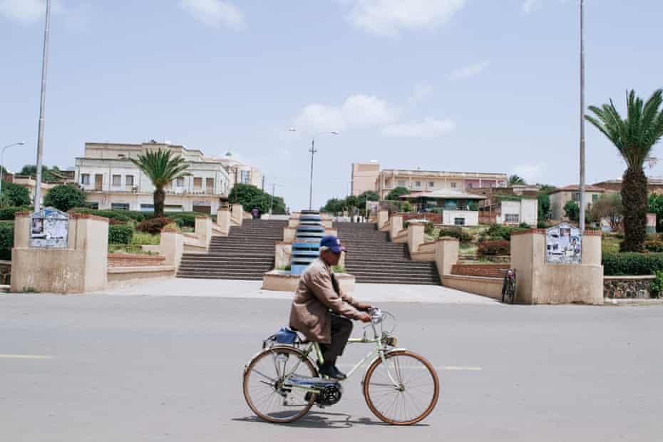 Asmara street cycling