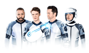 Rooster Teeth's popularity on and off YouTube helped get its Lazer Team film off the ground
