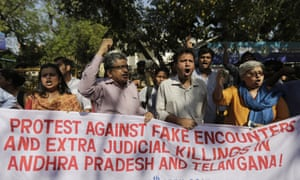 andhra pradesh sandalwood smugglers police killings