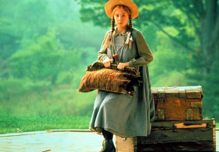 Megan Follows in the 1985 TV adaptation of Anne of Green Gables.