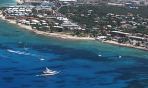 George Town in Grand Cayman, Cayman Islands.