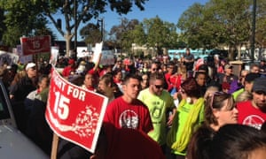 Fight for 15 Oakland