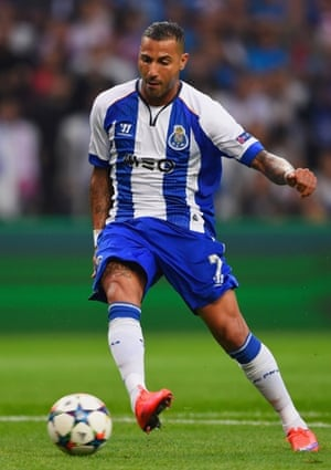 Ricardo Quaresma strokes the ball home for his, and Porto's, second goal of the night.