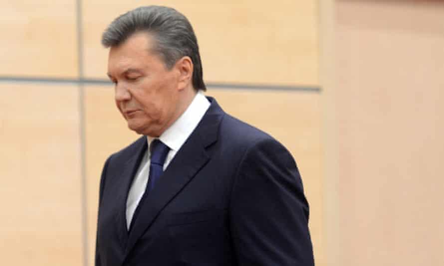 ukraine viktor yanukovych