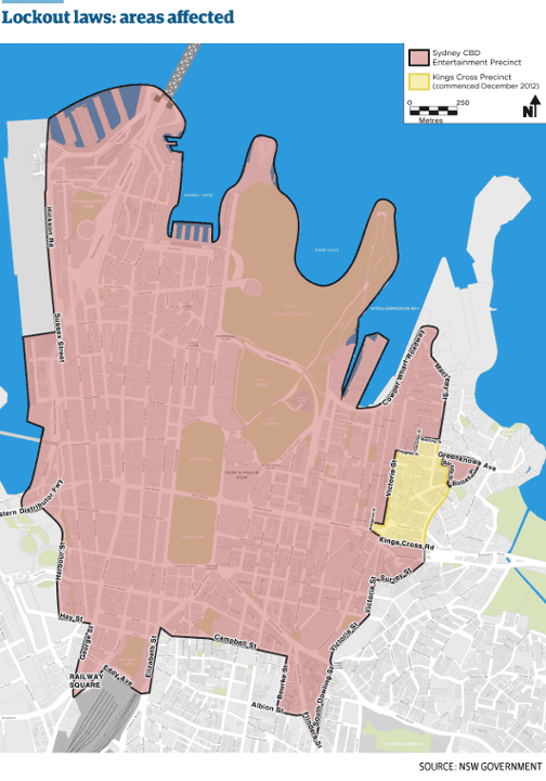 map of lockout laws