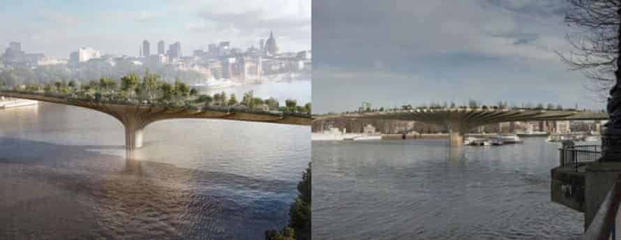 The garden bridge … vision vs reality?