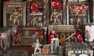 Souvenirs commemorating the Gallipoli campaign