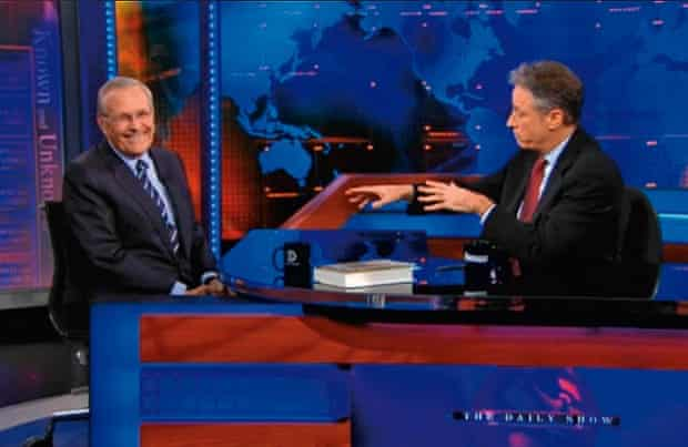 Jon Stewart's 2011 interview with Donald Rumsfeld