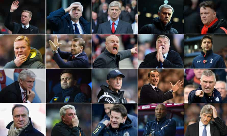 Your Premier League runners and riders.