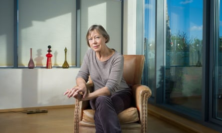 Jenny Agutter at home in London