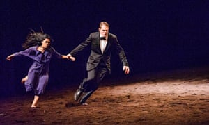 Tanztheater Wuppertal Pina Bausch in Auf dem Gebirge hat man ein Geschrei gehört, at Sadler's Wells