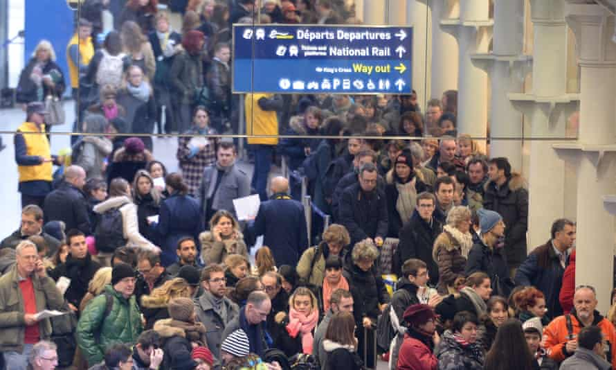 In January, thousands of Eurostar passengers were left stranded due to a lorry fire on a train in the tunnel.