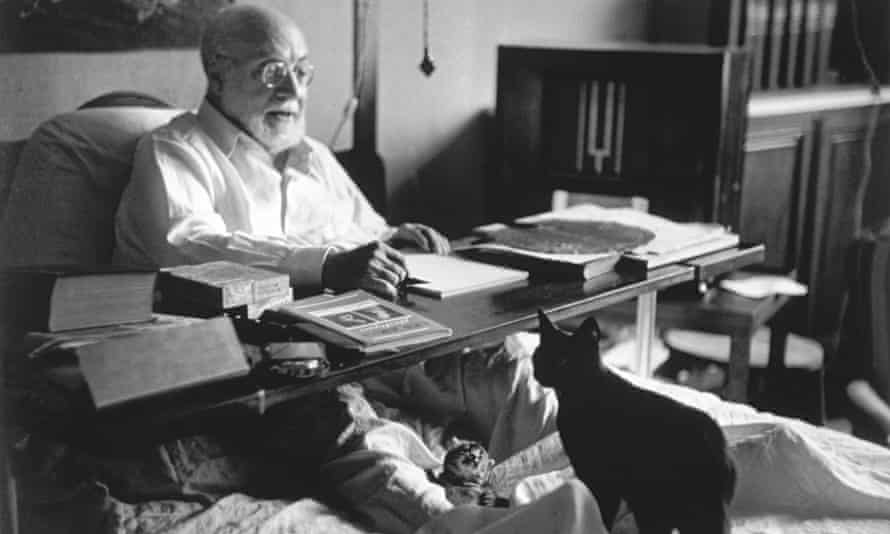 Henri Matisse Artists and their Cats
