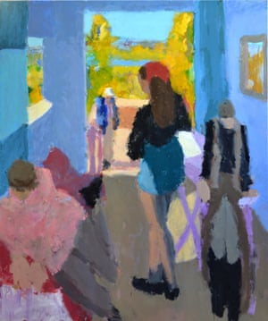 Frances x3, by Sargy Mann (2013).