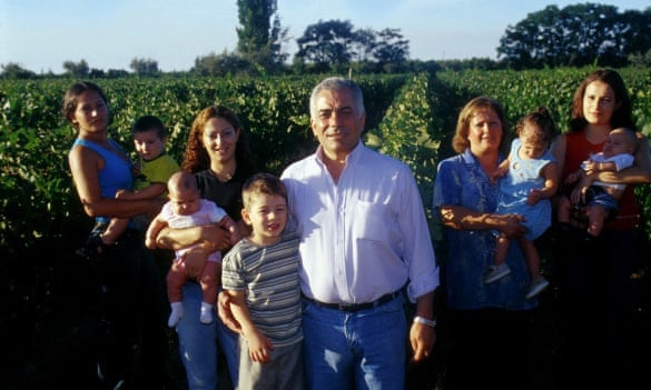 Making wine is a family affair for Carmelo Patti.