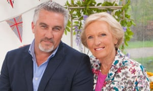 The Great British Bake Off.