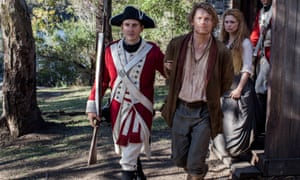 Julian Rhind-Tutt and MyAnna Buring in Banished.