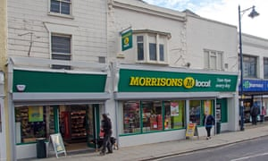 Morrisons chief David Potts said of the restructure: 'We believe our customers and our staff will appreciate the improvements.'