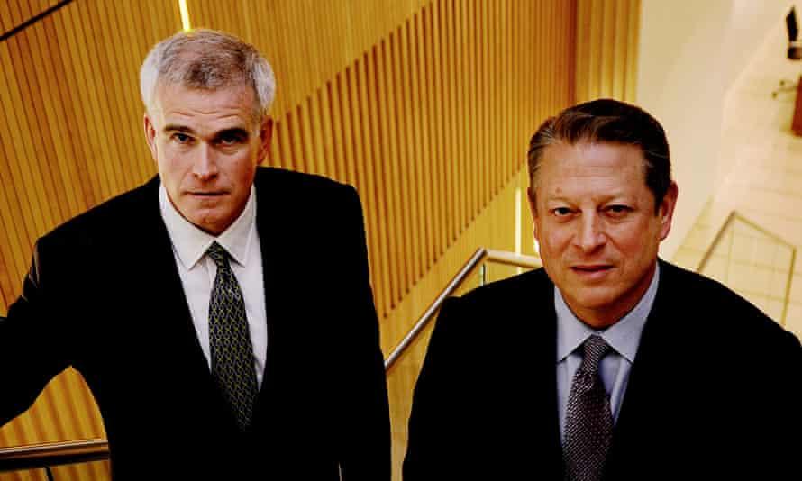 Al Gore and David Blood