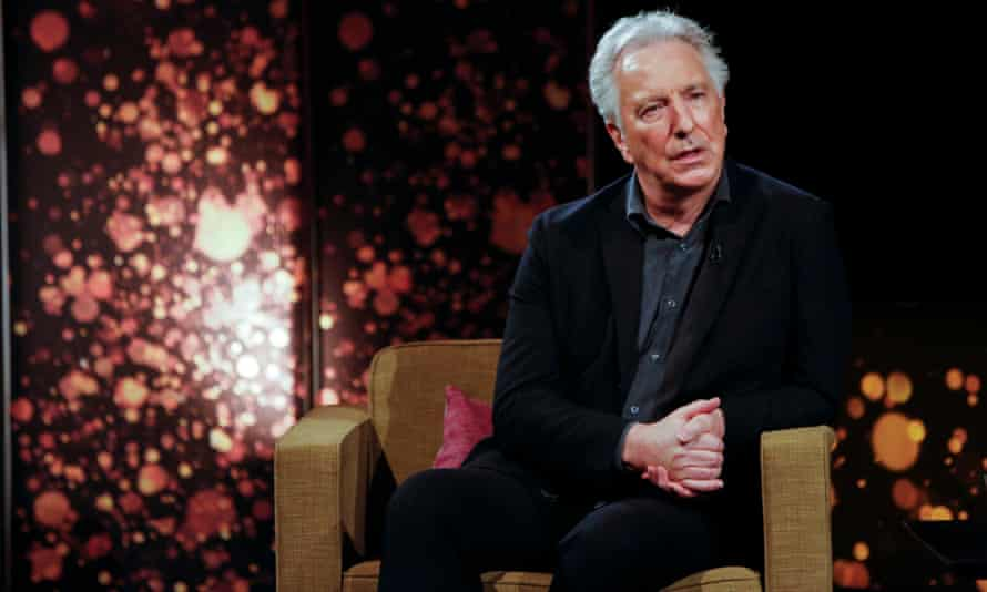 Alan Rickman at the Bafta Life in Pictures event