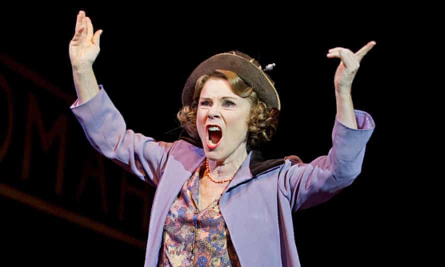 Imelda Staunton as Momma Rose in Gypsy