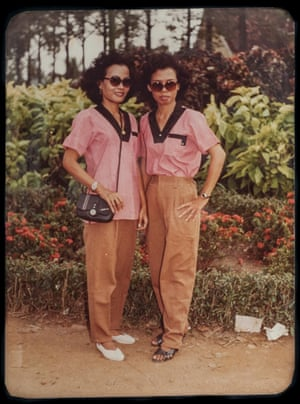 "Sisters at Heart, 1988  ""We would go to the same tailor so our clothes matched. We were not family but we felt so close and wanted to look the same, feel the same"""