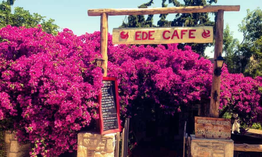 A cafe in Eski Datça