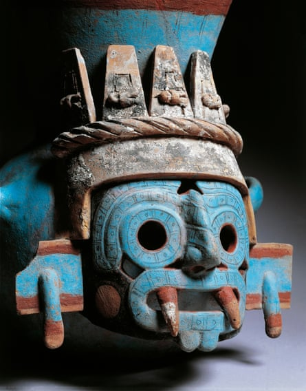 Vase from the Templo Mayor in Tenochtitlan, Mexico