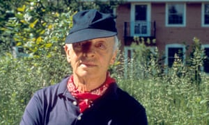 Saul Bellow at his home in Vermont in 1989.