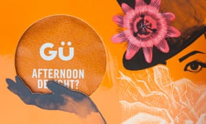 Pudding manufacturer Gü is one of the most aggressive food-packet philosophers.